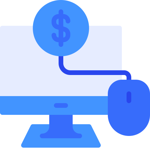 Pay Per Click (PPC) Advertising Icon