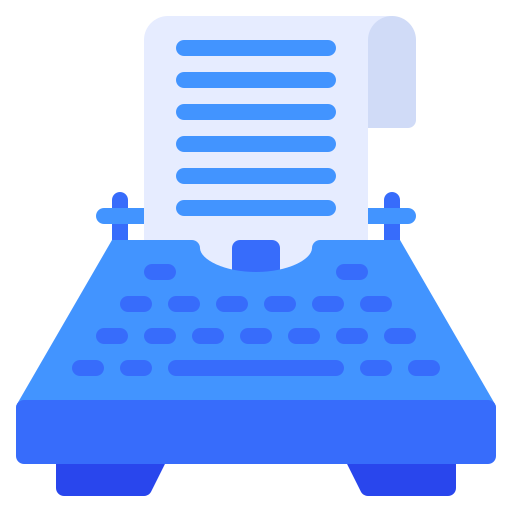 Content Writing and Development Icon